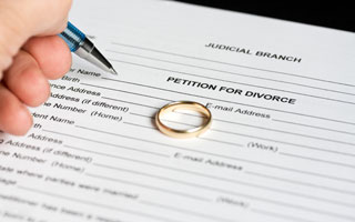 Why is it important to collect financial information as soon as you decide to divorce?