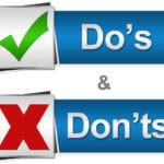 do's and don'ts of co-parenting