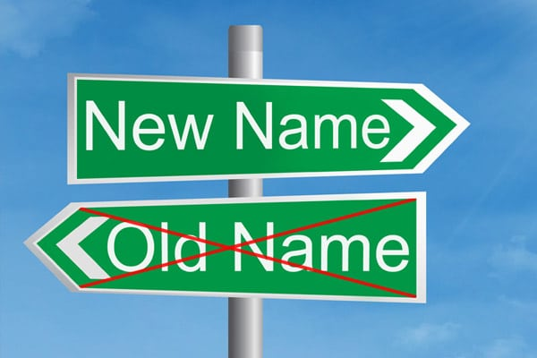 """Getting a Name Change Before Divorce: How to Become """"Yourself"""" Again"""