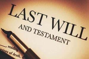 invalidate a will: last will and testament